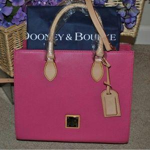 Dooney & Bourke Janine Satchel w/accessories